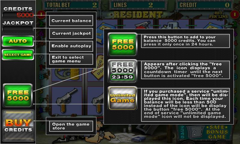 Real Slots 2 - mega slots pack- screenshot