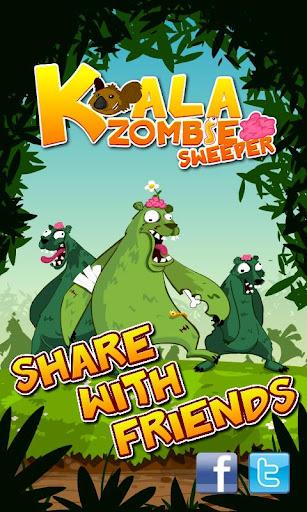 Koala Minesweeper with Zombies