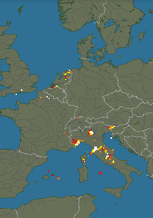 Lightning radar Screenshot