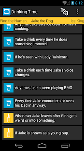 Adventure Time Drinking Game - screenshot thumbnail