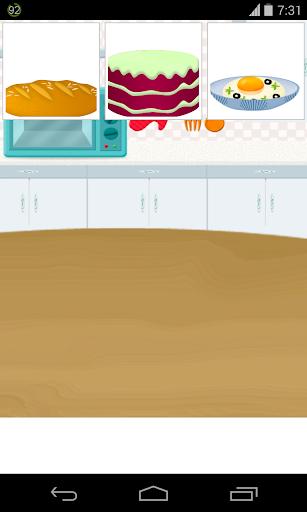 台所の料理ゲーム