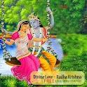 Divine Love Radha Krishna Free logo
