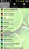 Screenshot of AromaGuide Huiles essentielles