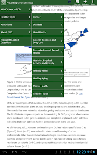 Preventing Chronic Disease-PCD- screenshot thumbnail