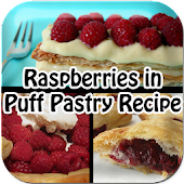 Raspberries in Puff Pastry
