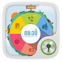 Tiny World GO Locker Theme icon
