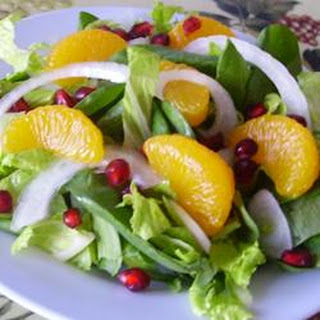 Pretty Pomegranate Salad