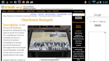 Screenshot of Charleston Tour Lite