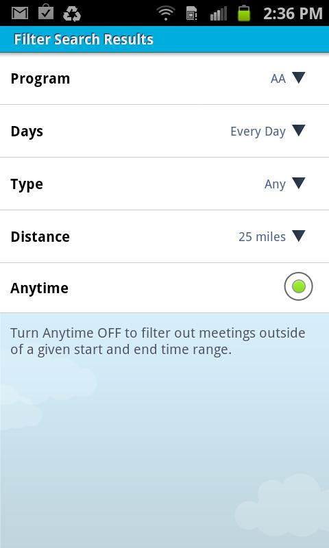 Meeting Finder - screenshot