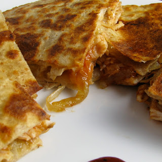 BBQ Chicken Quesadillas.