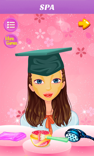 Girl Graduation Day Makeover