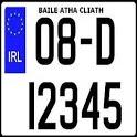 Irish Car Plates icon