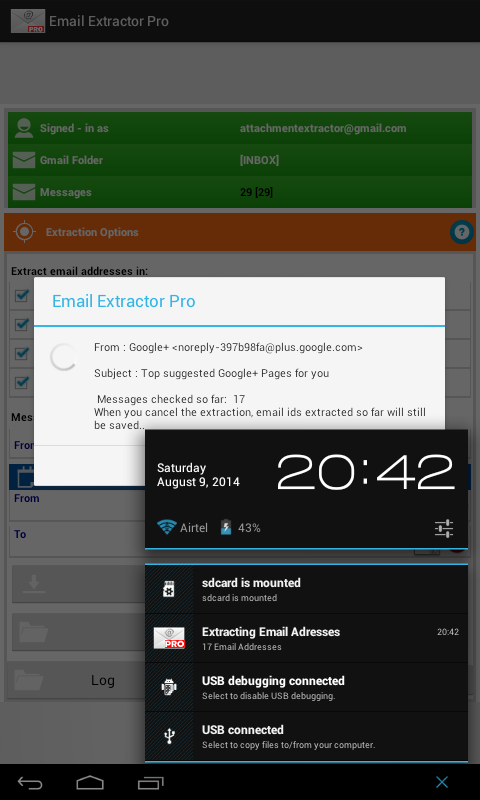 Email Extractor Pro- screenshot