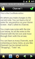Screenshot of CoolNote