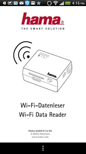 Wi-Fi Data Reader