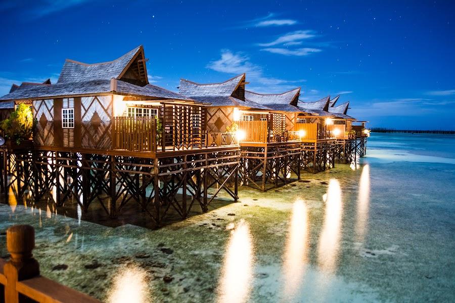 Sipadan Mabul Island, Sabah, Malaysia by Teck Keong Chu - Buildings & Architecture Other Exteriors ( malaysi, sipadan mabul island, sabah )
