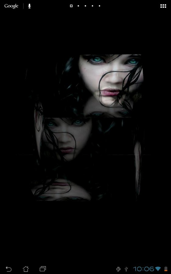Horror Girl 3D Live Wallpaper - screenshot