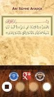 Screenshot of Asr Suresi - Sesli