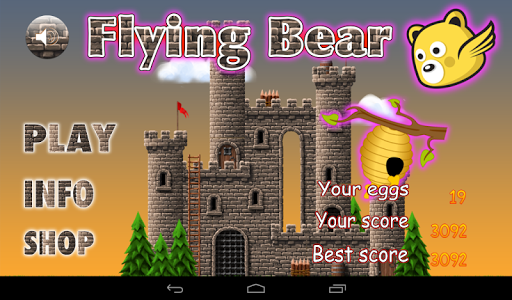 Honey Battle Flying Bear Game