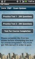 Screenshot of PMP Exam Prep PMBOK v5 - Video