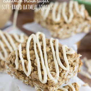 {Nature Valley Copycat} Cinnamon Brown Sugar Soft-Baked Oatmeal Squares