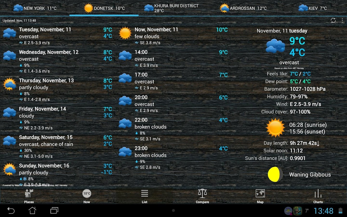 Weather ACE - screenshot