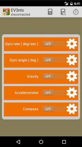 EV3nts - EV3 Sensors