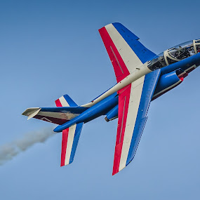 Fly-by by Gerd Moors - Transportation Airplanes ( solo, france, jet, la patrouille, airshow,  )
