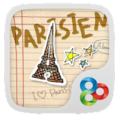 Parisien - GO Launcher Theme