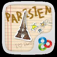 Parisien - GO Launcher Theme 1.0