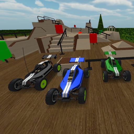 skatepark rc racing cars 3D