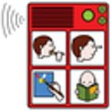AAC speech communicator icon