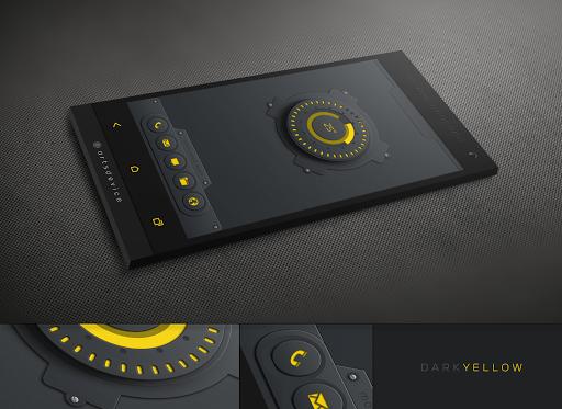 玩免費個人化APP|下載Dark&Yellow (by GaRyArTs) app不用錢|硬是要APP