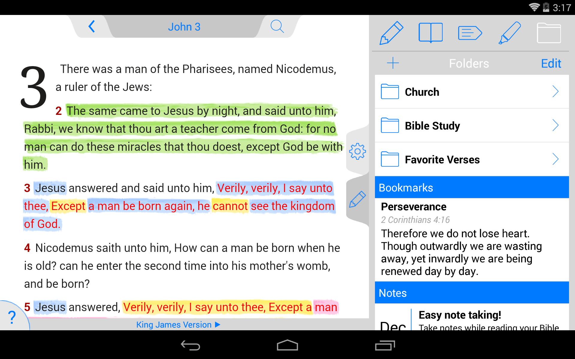 NLT Bible screenshot #20