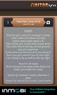 Fiestar Lyrics- screenshot thumbnail