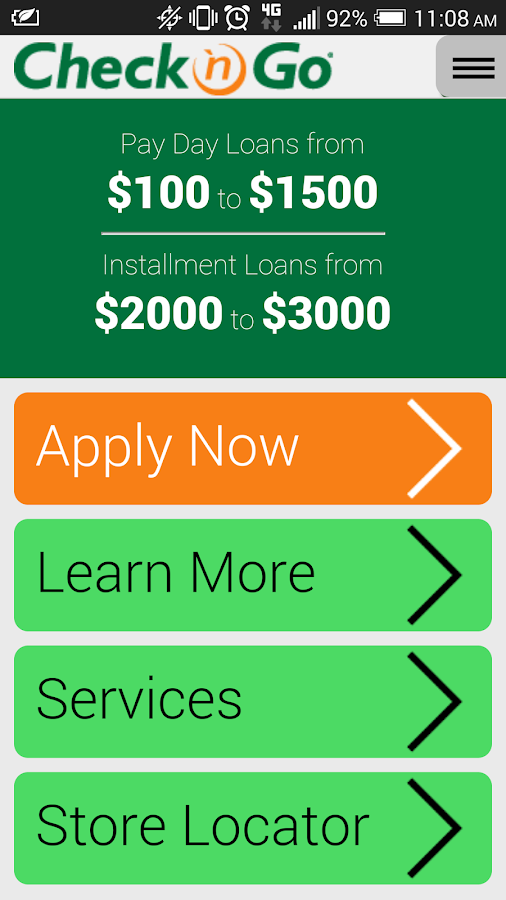 Check 'n Go - Payday Loans- screenshot