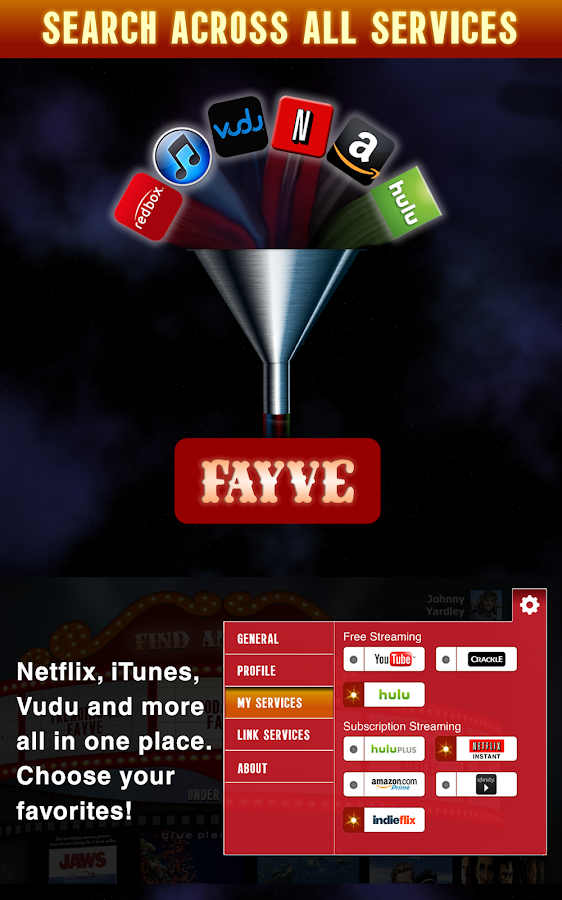 Fayve - screenshot