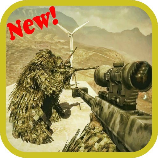 Sniper Mission Game LOGO-APP點子