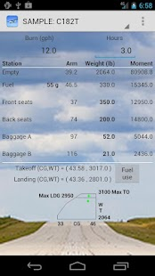 Aircraft Weight and Balance - screenshot thumbnail