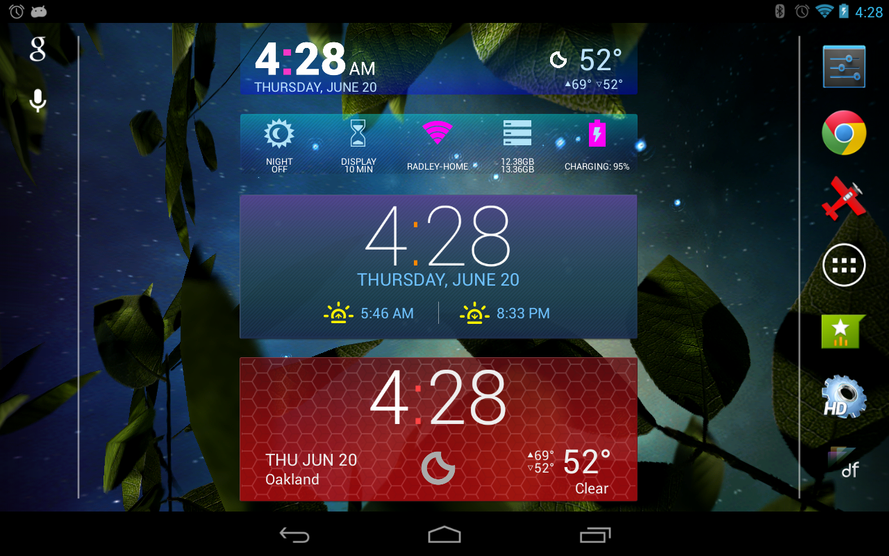 Colourform (HD Widgets Theme) - screenshot