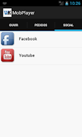 Screenshot of MobPlayer - Demonstrativo