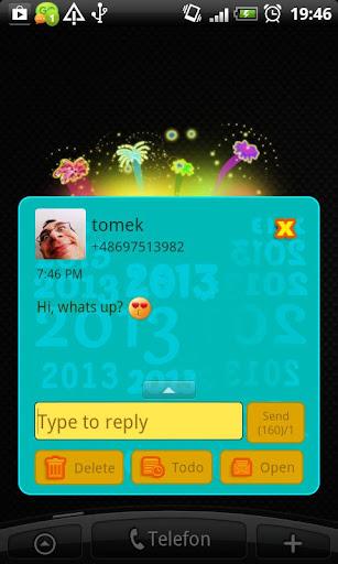 【免費個人化App】GO SMS Pro 2013 Theme-APP點子