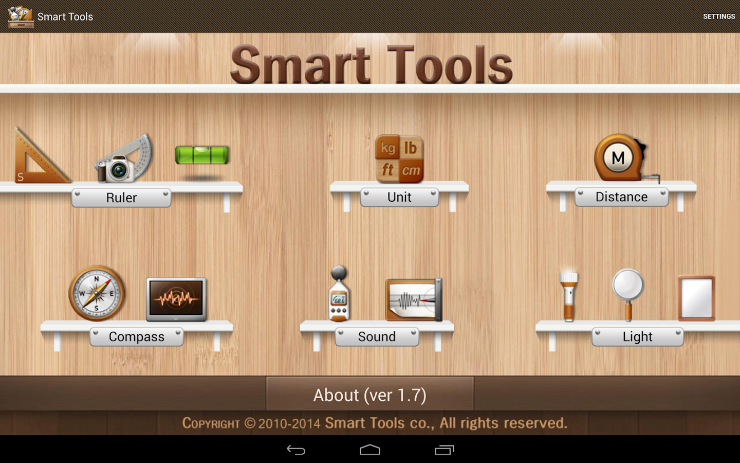 Smart Tools - screenshot
