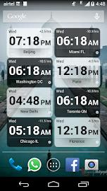 Bob's World Clock Widget Screenshot 8