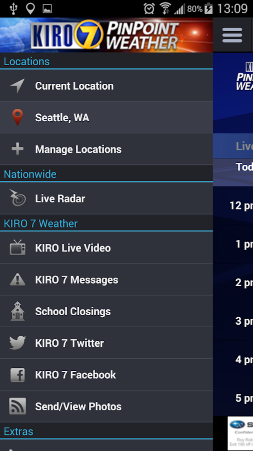 Kiro 7 weather android apps on google play