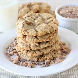 Toasted Coconut, Toffee, & Chocolate Chip Cookies