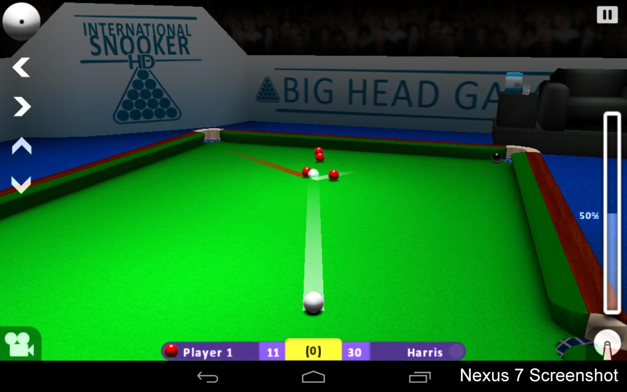 INTERNATIONAL SNOOKER - screenshot