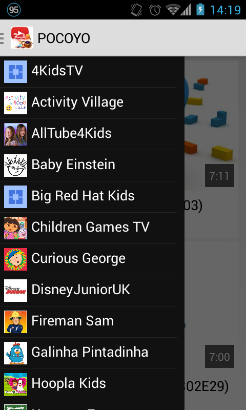 Kids TV (Youtube for Kids) - screenshot