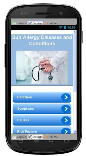 Sun Allergy Disease Symptoms