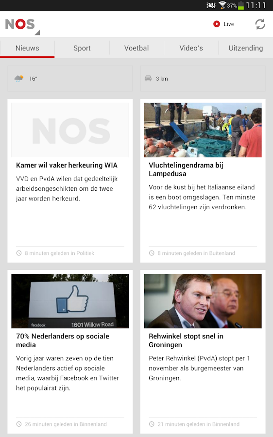 NOS - screenshot